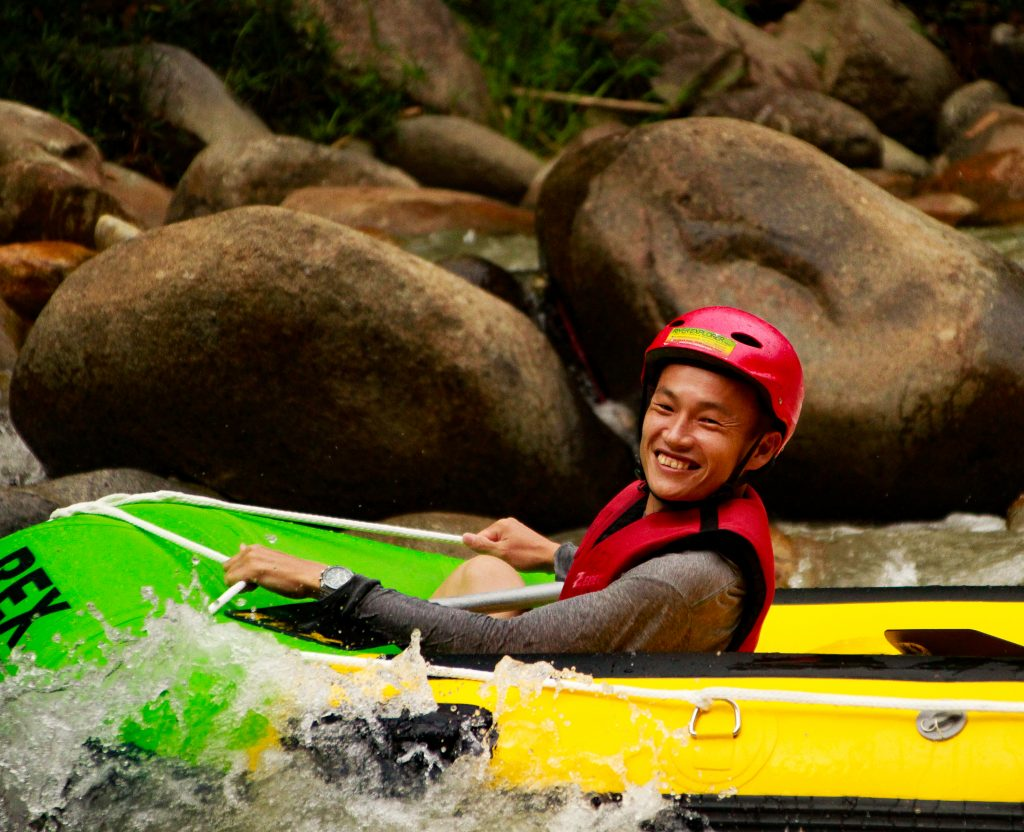 rafting TRIPS with smiles on 21 March 2019 Gopeng
