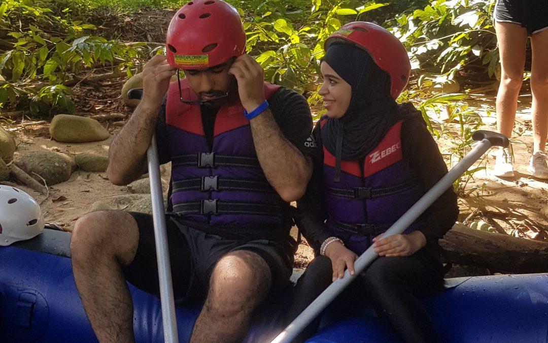 rafting in Gopeng Hussain Slayem Alameri