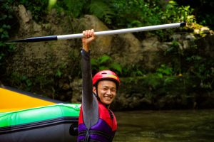 i am a rafter! i did it! Yeahh