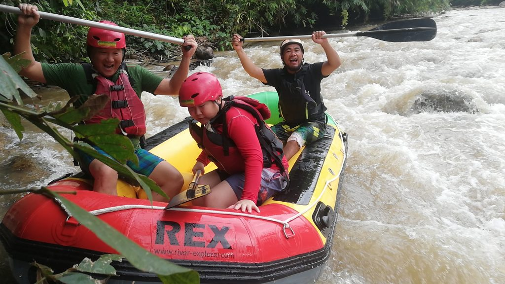 raft mr Ray and Son Gopeng