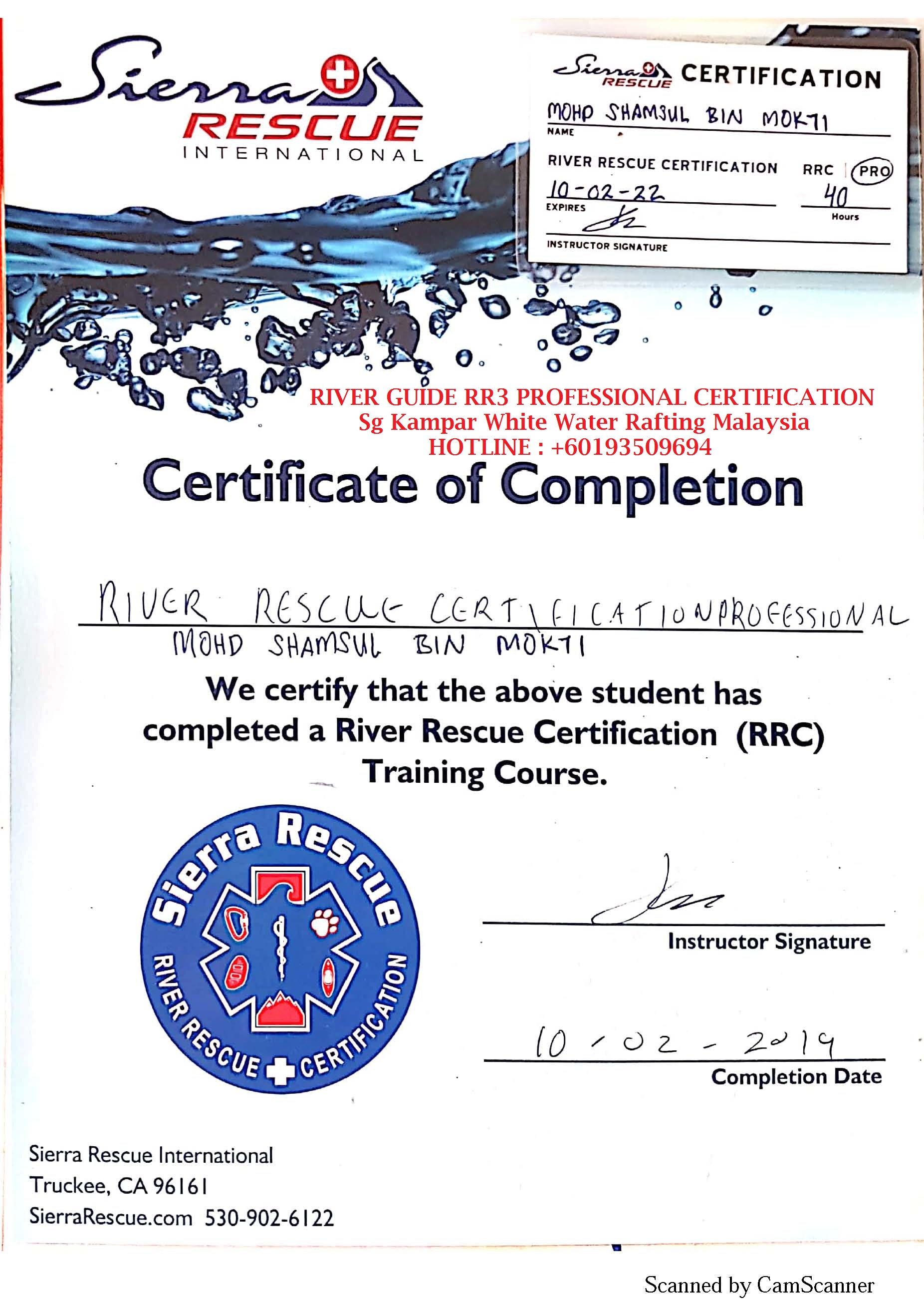 river_guide_mohd_shamsul_mokti_certified_River_Rescue_Certification