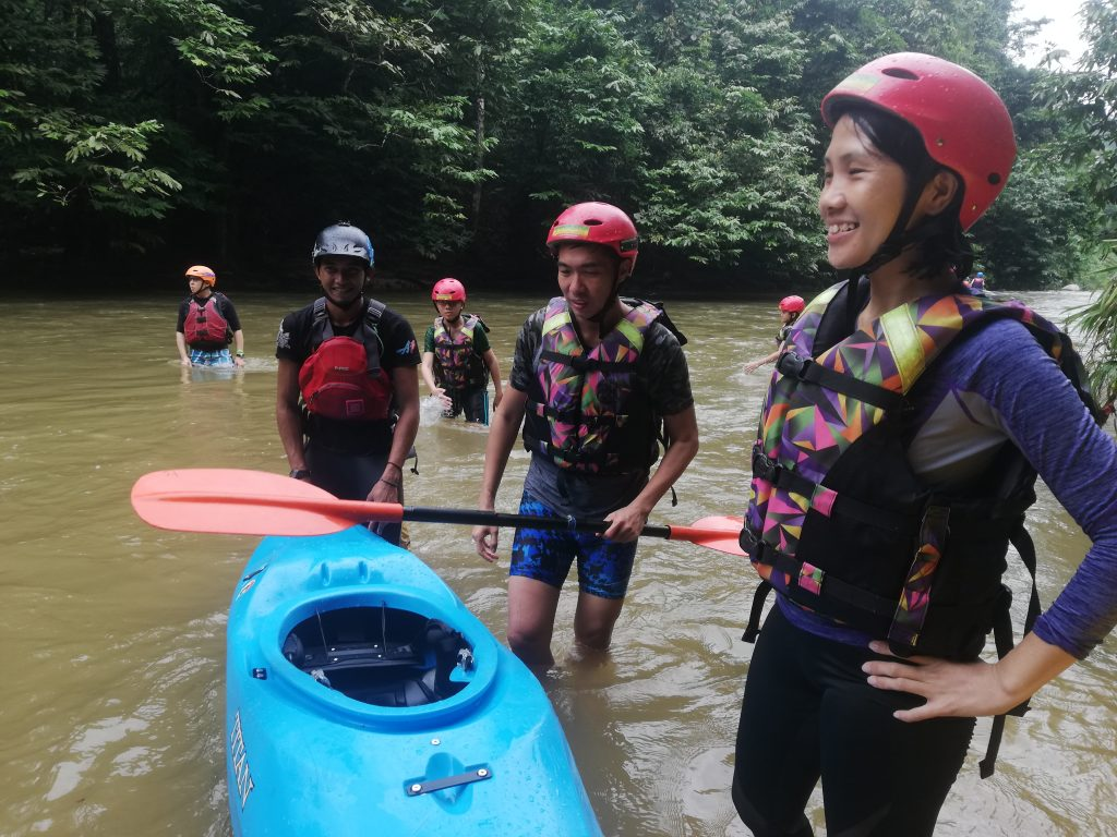 rest area of journey Gopeng Rafting Malaysia