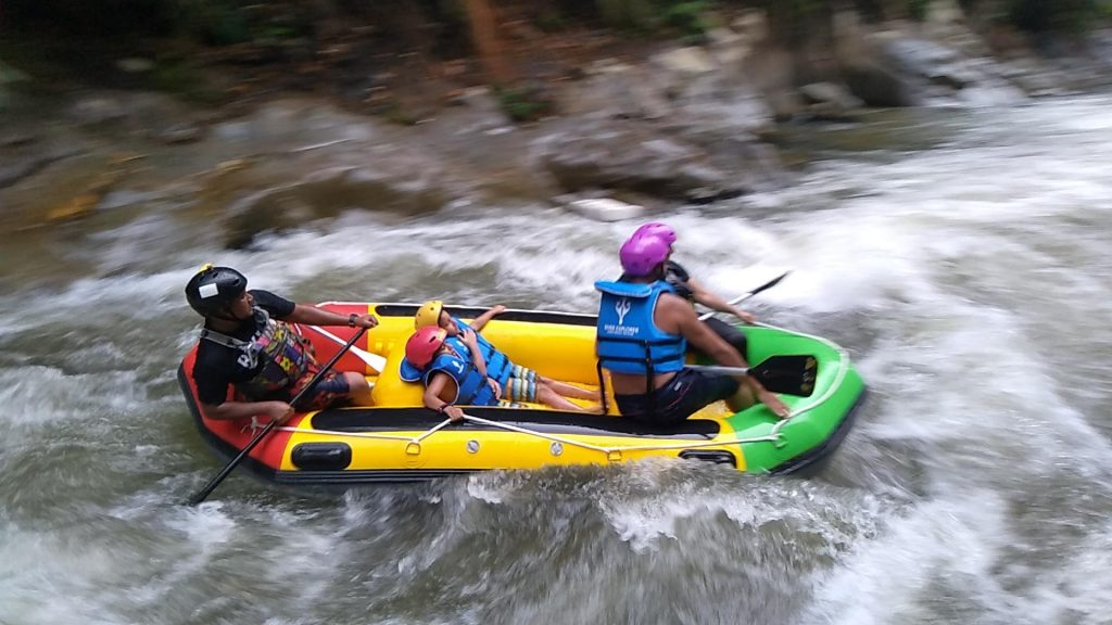 Kampar River Rafting on Kampar Festival 2019 by Mohammed Khodari and family