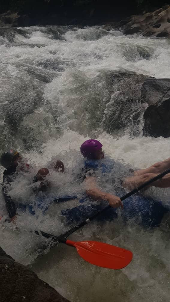 Kayaking Tours jump into the rapids!