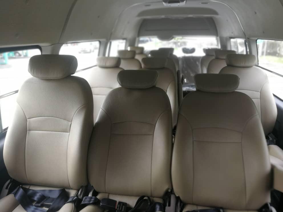 Kuala Lumpur Van Rental Seater
