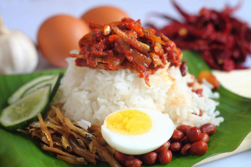 nasi lemak Jahang