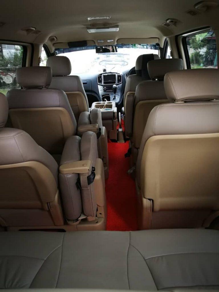 Kuala Lumpur back side MPV rental executive