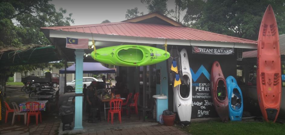 Location or Landmark Sg Kampar White Water Rafting Perak