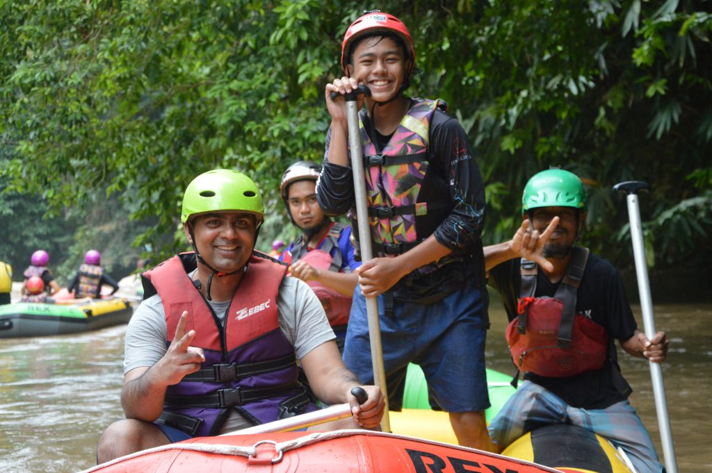 SOLO Water Rafting Gopeng Ipoh by Mr Dinesh 16 August 2020 with river guide