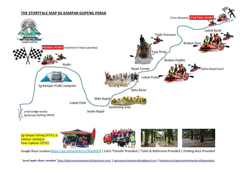 The storytale Map Sg Kampar Gopeng Perak