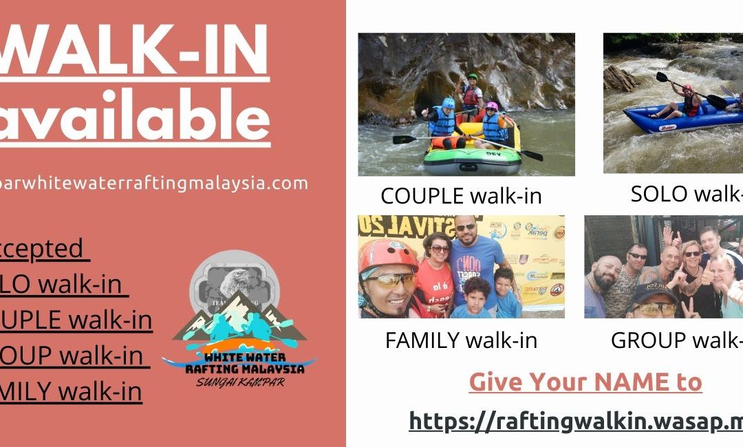 Walk-In Water Rafting Perak