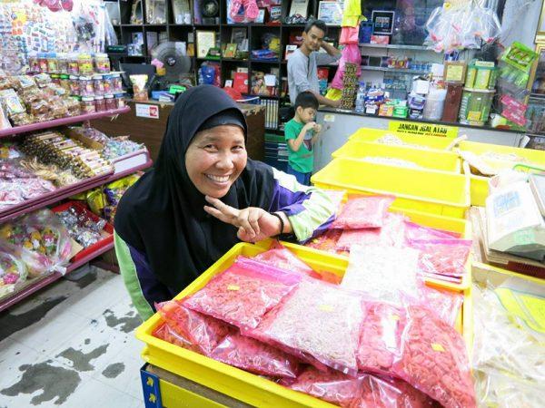 Owner Mama Jamilah Pangkor Ikan Bilis